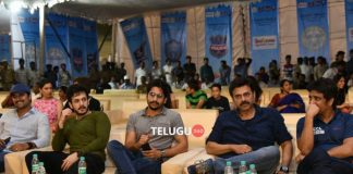 Celebrities at Hyderabad Police League Final