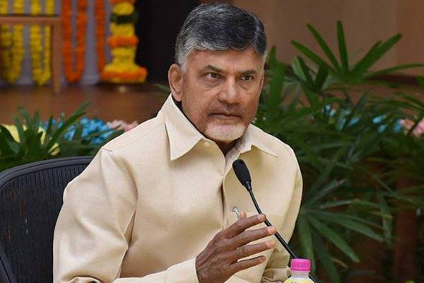 Chandrababu completes four years in office