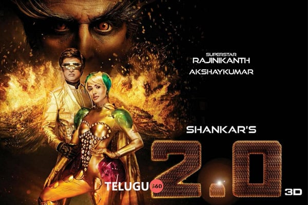 Shocking: Rajinikanth's 2.0 budget goes up by Rs 100 Crores