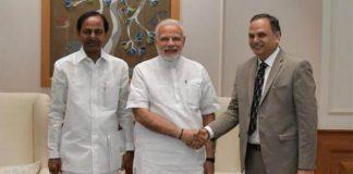Telangana CM meets PM, seeks Rs 20,000 cr for Kaleshwaram