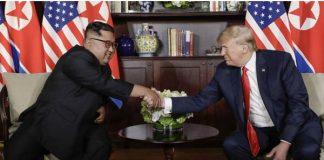 Trump, Kim begin summit meeting in Singapore