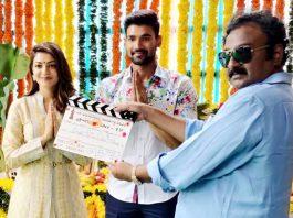 Bellamkonda Sreenivas Kajal Aggarwal movie Launched