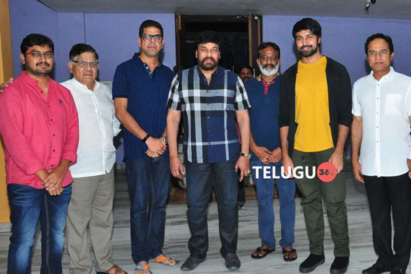 Chiranjeevi watches Vijetha