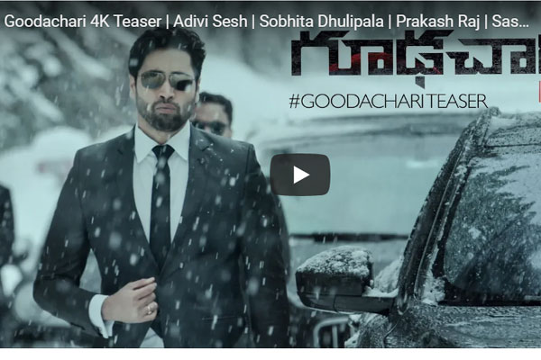 Goodachari Teaser: The Story of a RAW Agent
