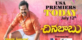 Chinna Babu Grand USA Premieres Today