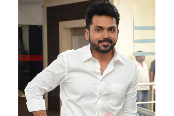 Karthi hints of a sequel for Khaidi