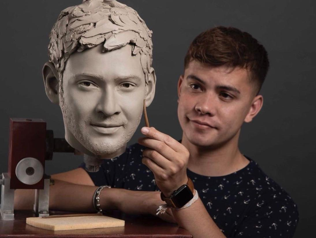 Maheshbabu's wax statue nearing completion