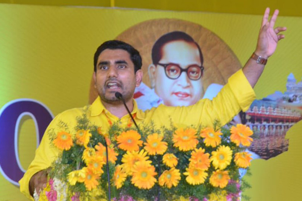 Minister's dashboard: Lokesh goes hi-tech in administration