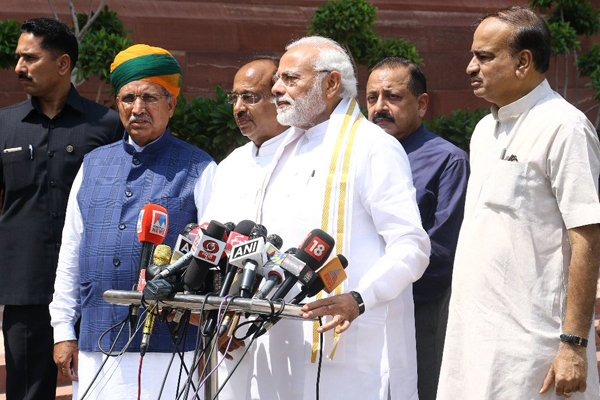 Big test for Modi govt as monsoon session begins