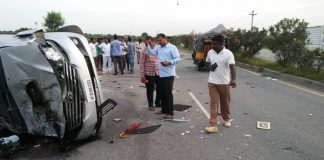 Nandamuri Harikrishna Car accident