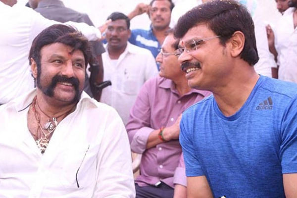 Boyapati's full length political thriller with Balakrishna