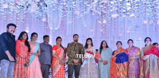 Celebs at Hero Rajasekhar sister' son engagement
