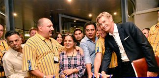 IKEA opens it's first store in India in Hyderabad, people rushed to store in thousands
