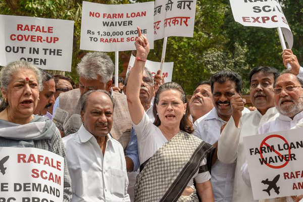 Monsoon session productive for government as opposition raises pitch over NRC, Rafale deal