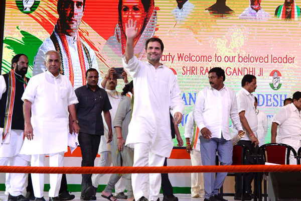Why PM is silent on rapes, asks Rahul Gandhi