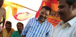 BJP MP trolled for allowing party worker to wash his feet & drink that water