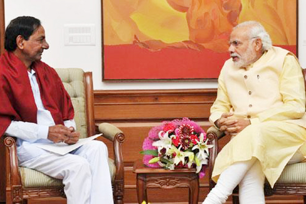 KCR's first meeting with PM in second term likely on Friday