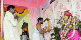 Ganesh Chaturthi begins with gaiety in Telangana, Andhra