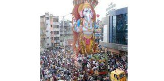 Ganesh procession