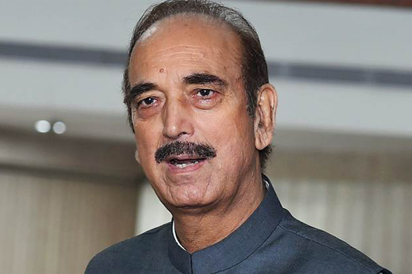 KCR biggest liar in the country: Ghulam Nabi Azad