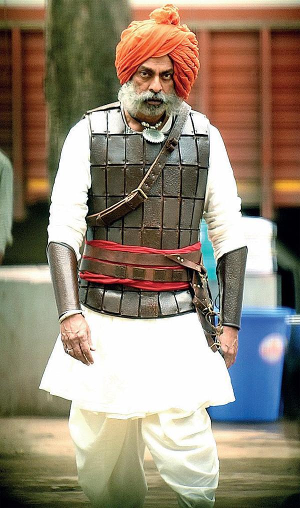 Jagapathi Babu's menacing look for his Bollywood outing