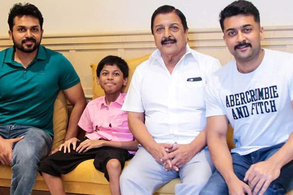 Tamil hero Surya's help to Special child appreciated by netizens