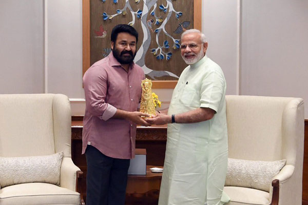 Mohanlal to contest LS from Thiruvananthapur on BJP ticket?