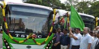 Olectra-BYD deploys electric buses in Hyderabad