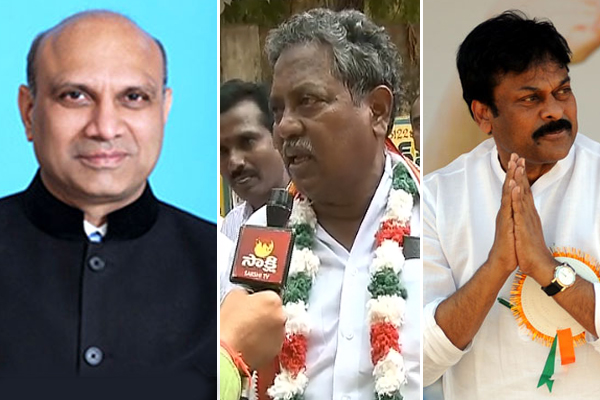 Pallam Raju, Vatti Vasanth and Chiranjeevi among absentees