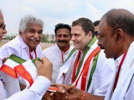 Congress President Rahul Gandhi in Kurnool district here in AP on Tuesday.
