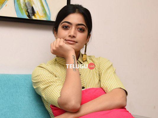 Rashmika Mandanna DevaDas Interview Stills