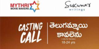 Sukumar teams up with Mythri Movie Makers