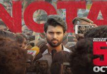 Vijay Devarakonda's NOTA release date