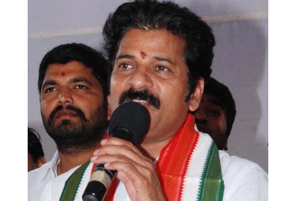 KCR can't float national party: Revanth Reddy