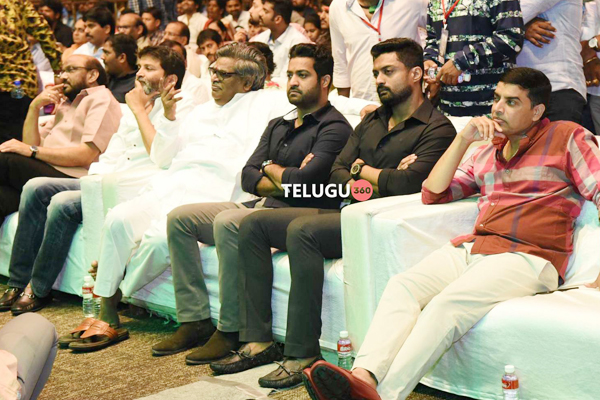 Aravindha Sametha Pre Release Event Photos