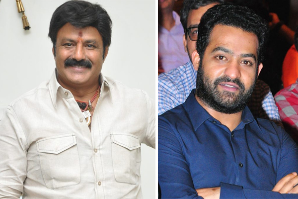 NBK and NTR to share Stage