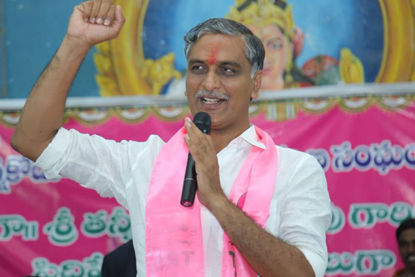 Congress colluded with Andhras, says Harish Rao