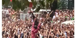 Kaushal gets a superstar reception