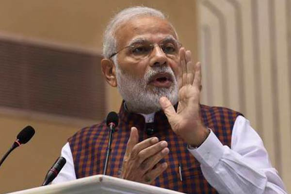 Anti-BJP front to benefit their sons and dynasties, says PM Modi
