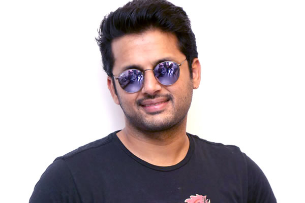 Nithiin gives ample time to Chalo director