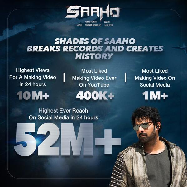 'Shades of Saaho' storms social media