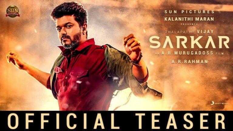 SARKAR Teaser : Vijay's show all the way