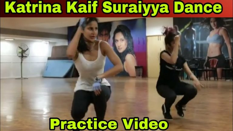 Katrina Kaif Suraiyya song dance practice : Thugs of hindostan