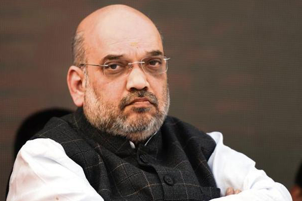 Amit Shah fires at Vijayasai at Delhi all-party meet