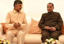 Chandrababu Naidu met with Governor Narasimhan