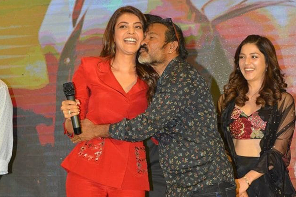Kajal embarrassed with Chota K Naidu's vulgar acts