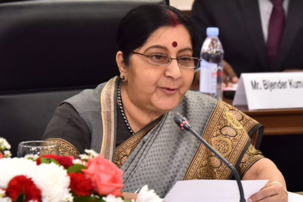 KCR bothered about his own family, says Sushma Swaraj