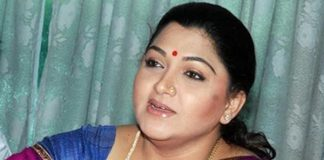 Khushboo fired salvos on KCR and Modi