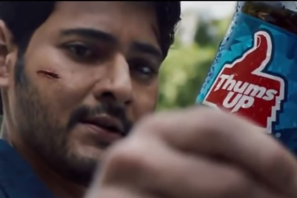 'Thumbs Up' ad shows what directors are missing out of Mahesh