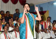 Put an end to KCR's rule from farm house, Vijayashanti asks voters